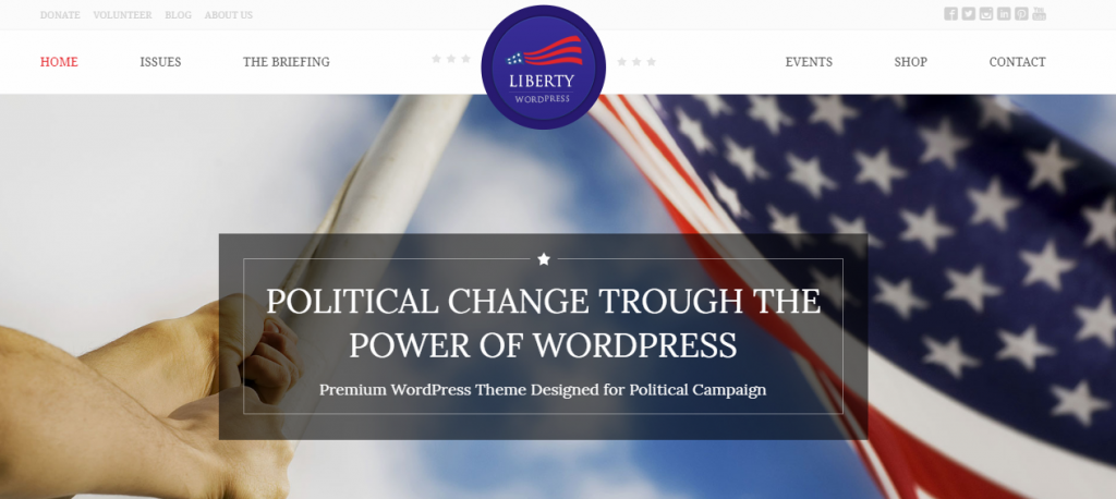 Political WordPress Themes