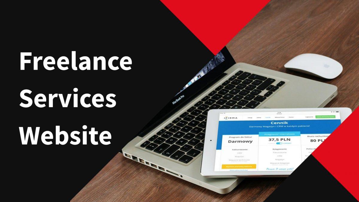 Freelance Services Website