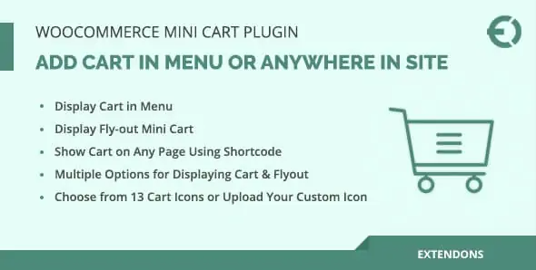 WooCommerce Mini Cart Plugin is a great extension to improve the shopping experience by making the shopping cart more accessible on your web store. It displays the cart on the top menu of your website and can be used to get a quick view of all the products that you have added to your cart. Also, the plugin has an inbuilt shortcode generator that allows you to insert the cart to any location of your preference. Additionally, the cart contains a promo option to allow you to insert any type of coupon code run by your website to provide discounts for the item purchased.